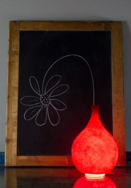 Lampada da tavolo Luce Liquida Big