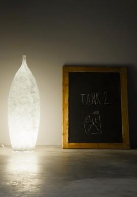 Lampada da terra Tank2