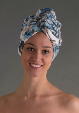 Towel Turban Hair