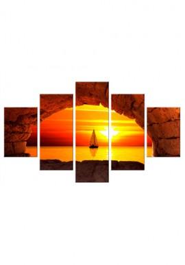 Stampa - Finestra sul tramonto