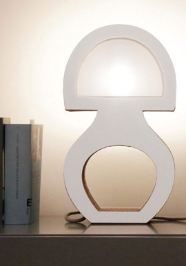 The floor lamp Cardboard