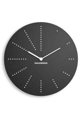 Black Cardboard Clock