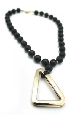 "Onix Necklace ""Delta"""