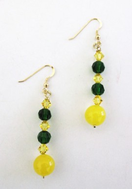 "Crystal Earrings ""Lanzarote"""