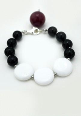 """Onyx Bracelet """"Luna"""""""