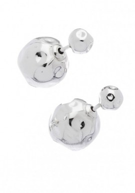 "Silver Earrings ""Sfera"""