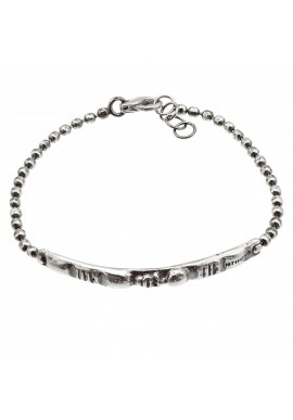 "Silver man's bracelet ""Original"""