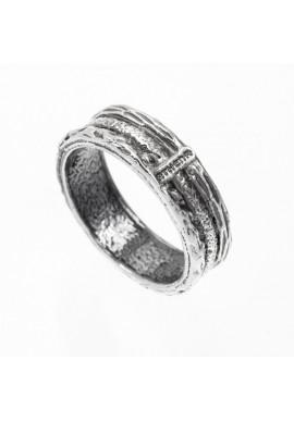 """Silver unisex ring """"Original"""""""