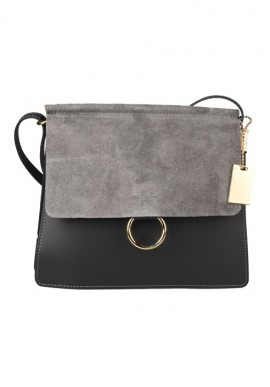Genuine cow leather shoulder bag