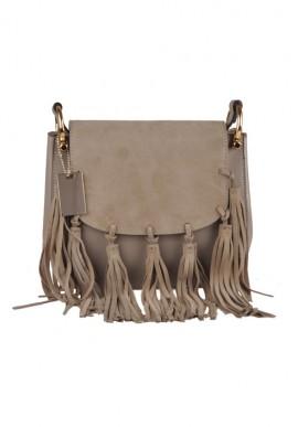 Genuine cow leather shoulder bag